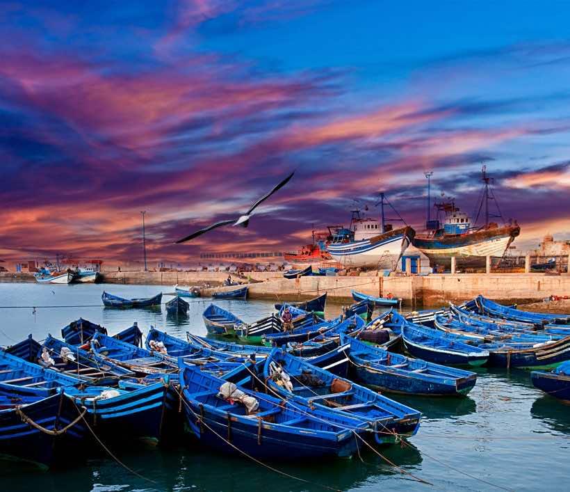 Essaouira's coast
