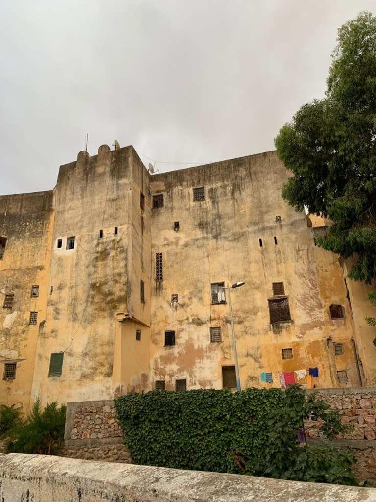 Old Jewish Mellah building