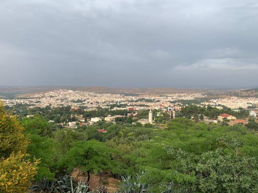 Panoramic view of Sefrou