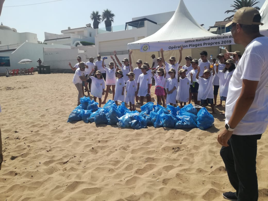 'Clean Beaches 2019' Takes on Two Casablanca Beaches, Clears 1.700kg of Plastic-1