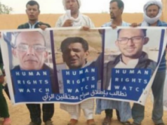 Polisario's 'War Crimes' in Spotlight at Sit-In in Northern Spain
