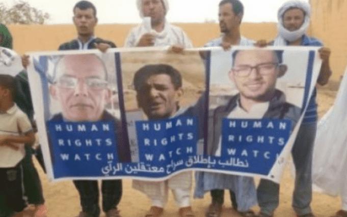 Polisario's 'War Crimes' in Spotlight at Sit-In in Northern Spain