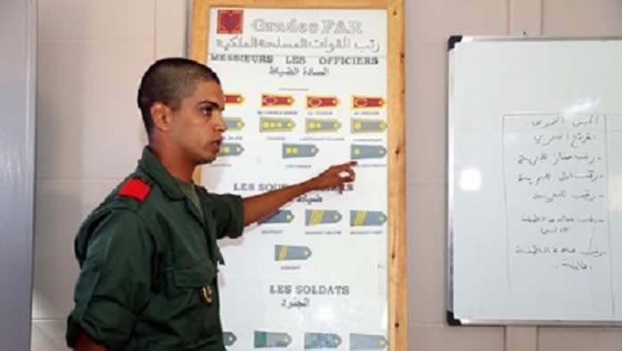 15,000 Moroccan Conscripts Begin Military Service Training