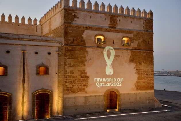 2022 FIFA world Cup in Qatar Emblem