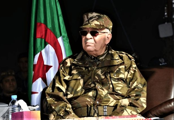Algerian army chief Gaid Salah