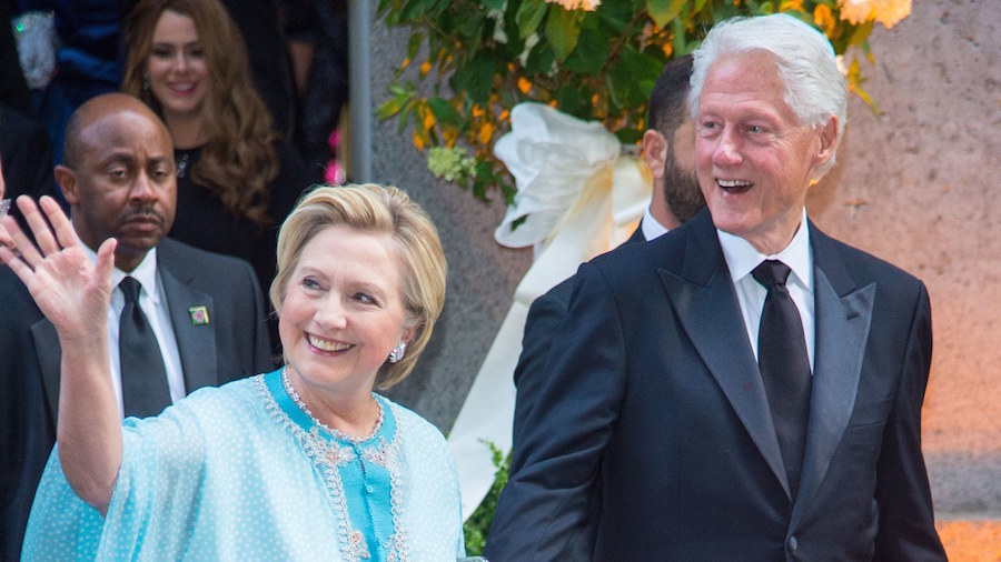 In Pictures: Bill and Hillary Clinton Make the Most of Marrakech