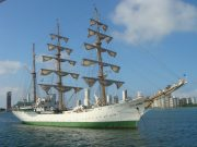 Colombian Ship 'ARC Gloria' Docks in Casablanca