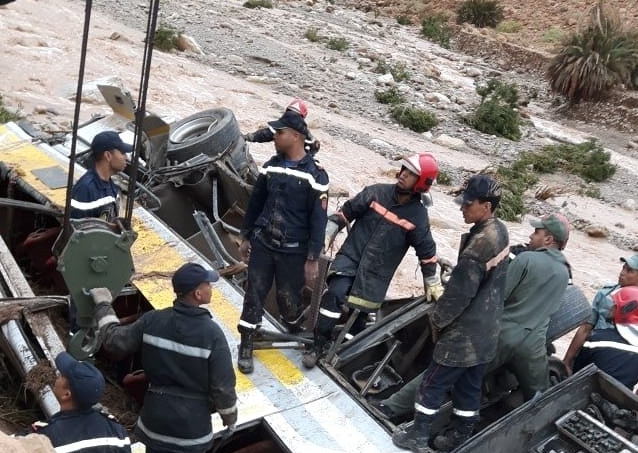 Errachidia's Flood, Police Investigate Bus Driver