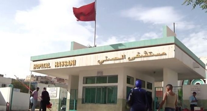 Fire Ravages Hospital in Nador