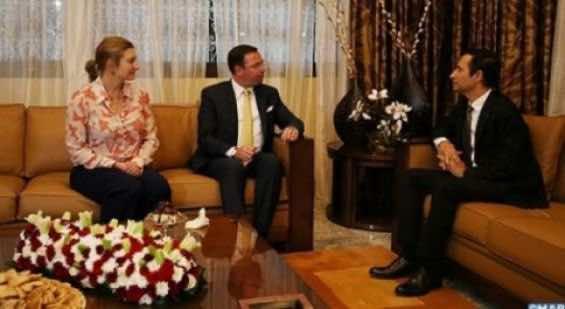 Grand Duke, Duchess of Luxembourg Visit Morocco