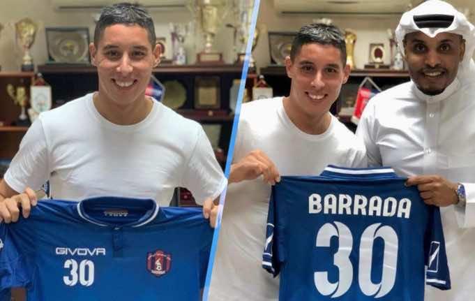 Moroccan International Footballer Abdelaziz Barrada Joins Qatari Club