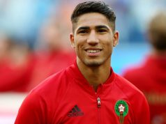 Moroccan Player Achraf Hakimi on English Club Chelsea's Wishlist
