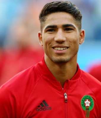 Moroccan Player Achraf Hakimi on English Club Chelsea's Wishlist