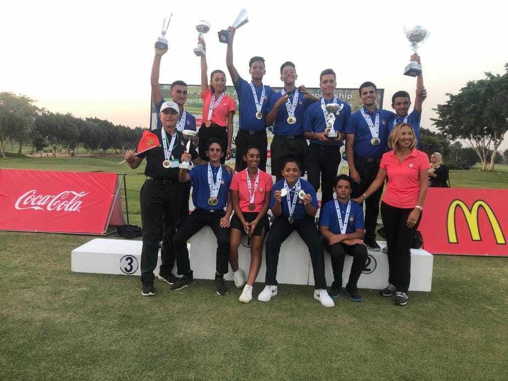 Morocco Dominates 2019 Pan-Arab Junior Golf Championship