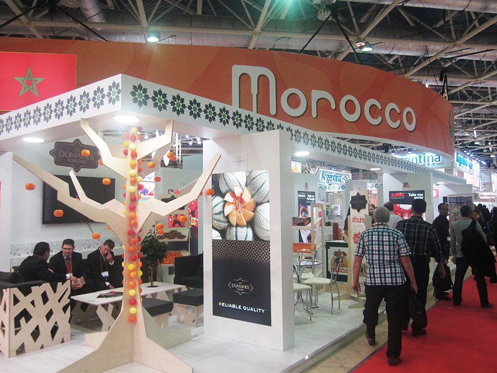 Morocco Participates in WorldFood Moscow Exhibition