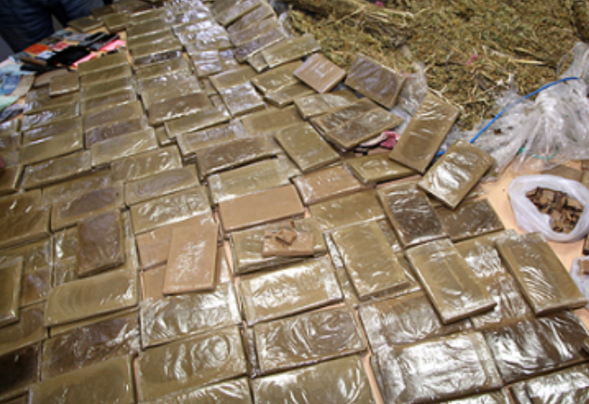 Morocco Seizes 17.5 Kilogram of Cannabis Resin at Ceuta Crossing Point
