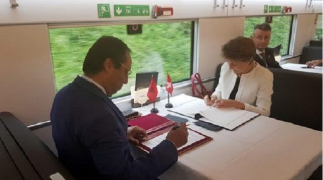 Morocco and Switzerland Sign MoU on Road and Rail Transport Cooperation
