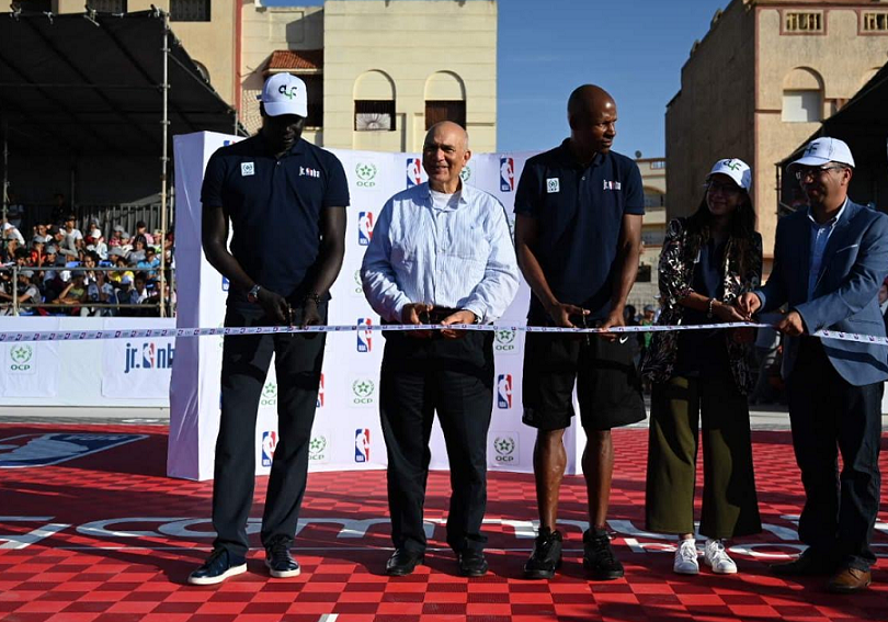 OCP, NBA Team Up to Promote Youth Empowerment in Morocco and