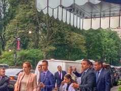 Princess Lalla Salma in New York With Princes Moulay Hassan, and Lalla Khadija