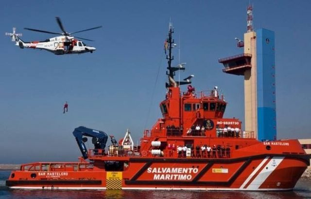 Spanish Rescue Mission Saves 79 Immigrants Coming From Morocco