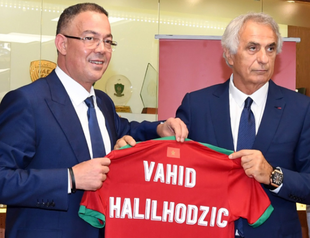 Vahid Halilhodzic Expresses Satisfaction with Atlas Lions' Performance