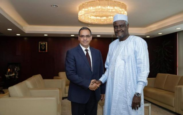 AU Commission President Praises Morocco's Efforts on Climate Change, Role in Continental Stability
