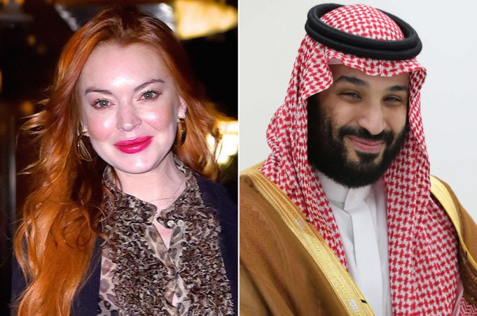 Lindsay Lohan's Father - Lindsay is in 'Platonic Relationship' with Mohammed Bin Salman