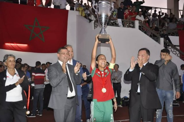 Moroccan U20 Women's Football Team Wins North African Championship