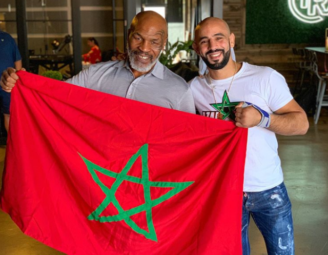Morocco's Azaitar Brothers Visit Boxing Legend Mike Tyson