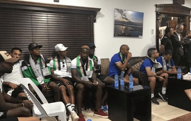 Morocco's Raja Football Team Arrives in Palestine