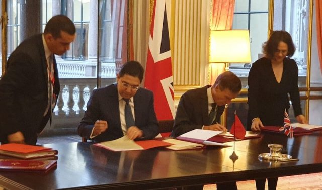 Morocco, UK Sign Post-Brexit Association Agreement