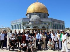 Raja Delegation Performs Friday Prayer at Al-Aqsa Mosque