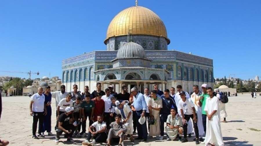 Video: Raja Delegation Performs Friday Prayer at Al-Aqsa Mosque