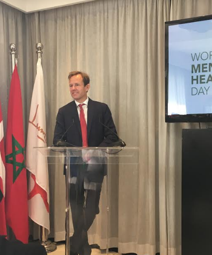 Raising Awareness on World Mental Health Day in Danish embassy
