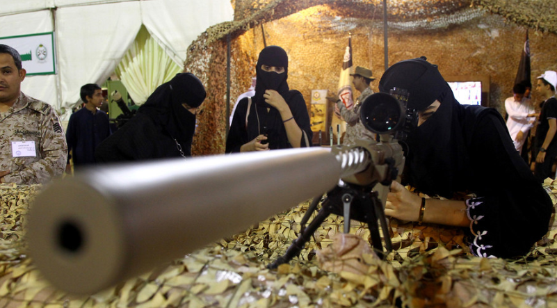 Saudi Arabia's Military Opens Up Combat Positions to Women