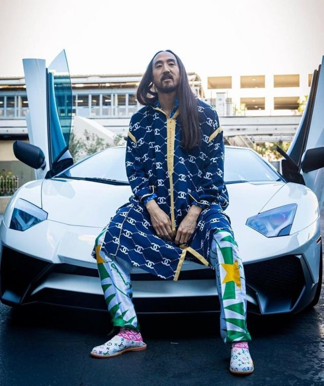 Steve Aoki Sports Traditional Moroccan Jellaba