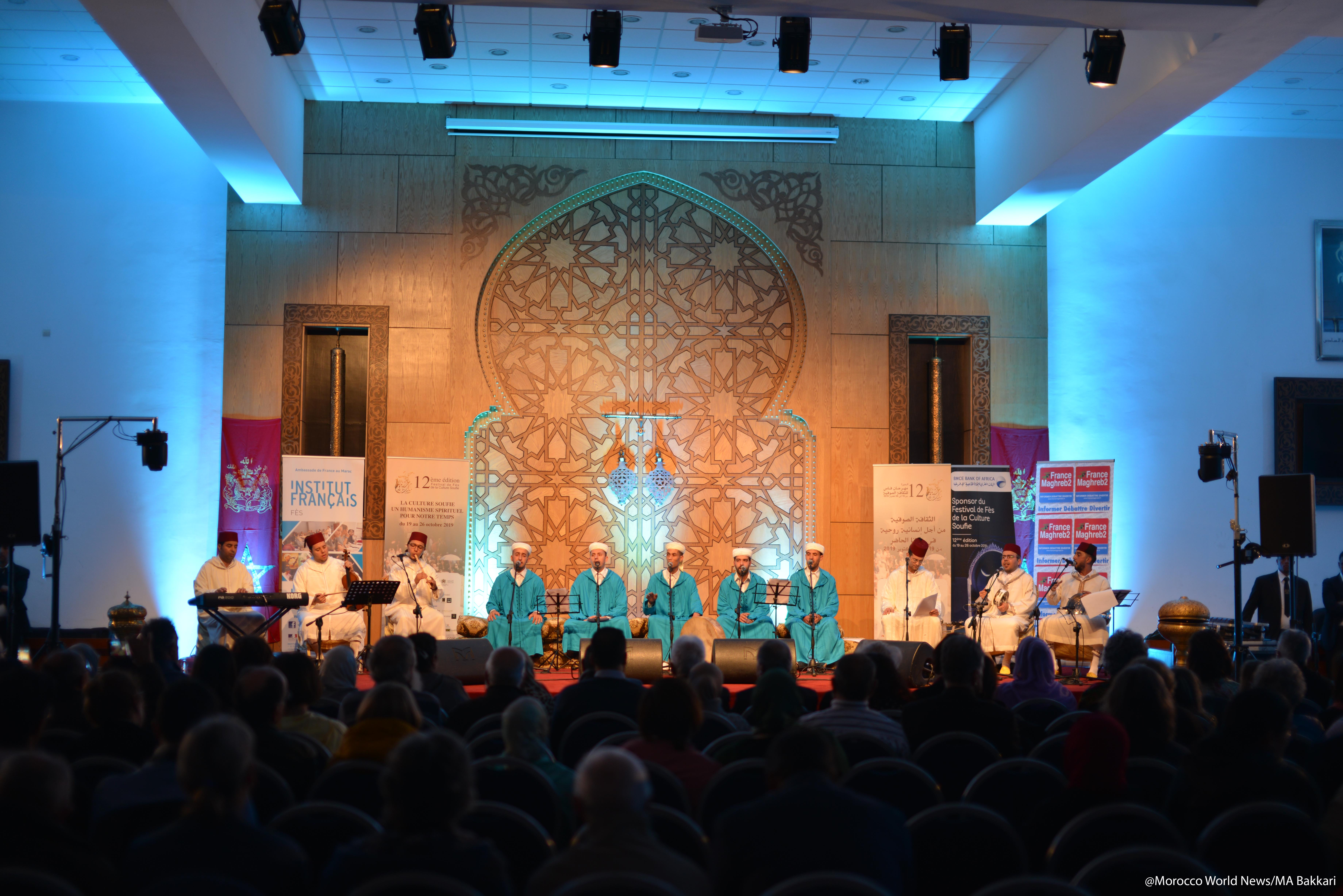 Sufi music group Tariqa Rissouniya