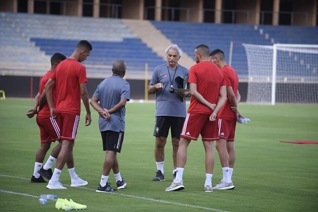 Atlas Lions Coach Evaluates 40 Local Players for National Football Team