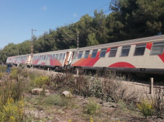 train derailed in casablanca