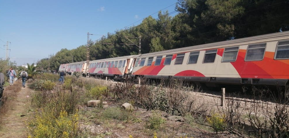 ONCF Train Derails Near Casablanca, No Injuries Reported