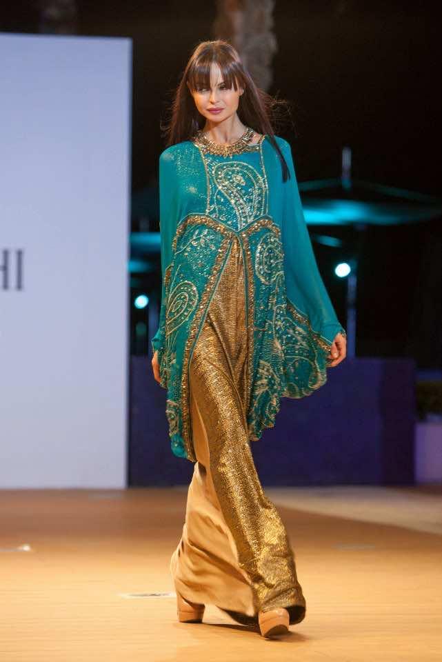 Nora Sahraoui Brings Moroccan Flair to Miami Modest Fashion Week
