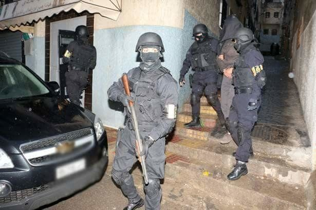 Morocco's BCIJ Arrests 2-ISIS Linked Suspect in Rabat