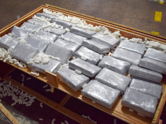 Brazil's Customs Services Seize 1.3 Tons of Cocaine Bound for Morocco