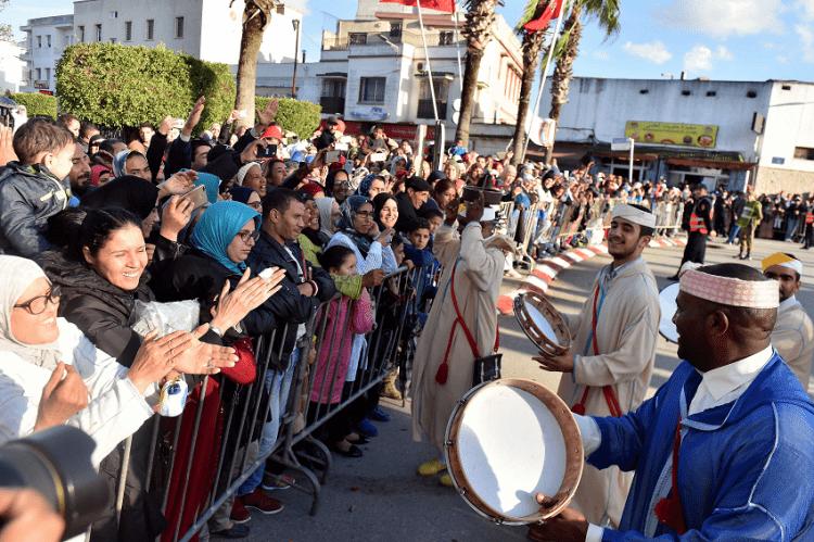 Eid Al Mawlid inMorocco The 'Candle Convoy' of Sale