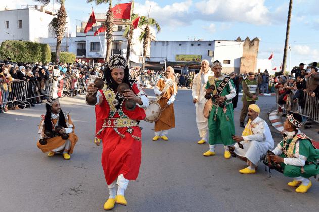 Eid Al Mawlidin Morocco The 'Candle Convoy' of Sale