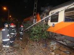 ONCF Marrakech-Tangier Train Catches Fire