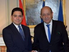 French FM Le Drian to Visit Morocco Thursday