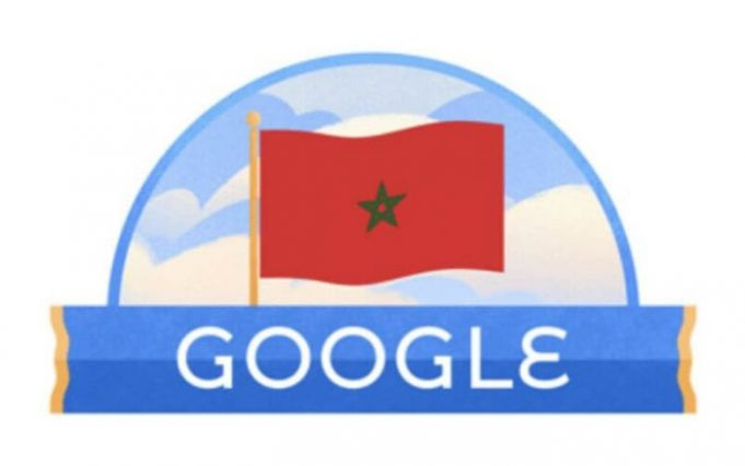 Google Marks Morocco's Independence Day with Search Engine 'Doodle'