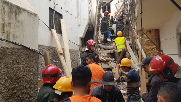 House Collapses in Tangier's Old Medina, Kills One