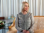 Ivanka Trump Sports Moroccan Style Jacket at Rabat Meeting
